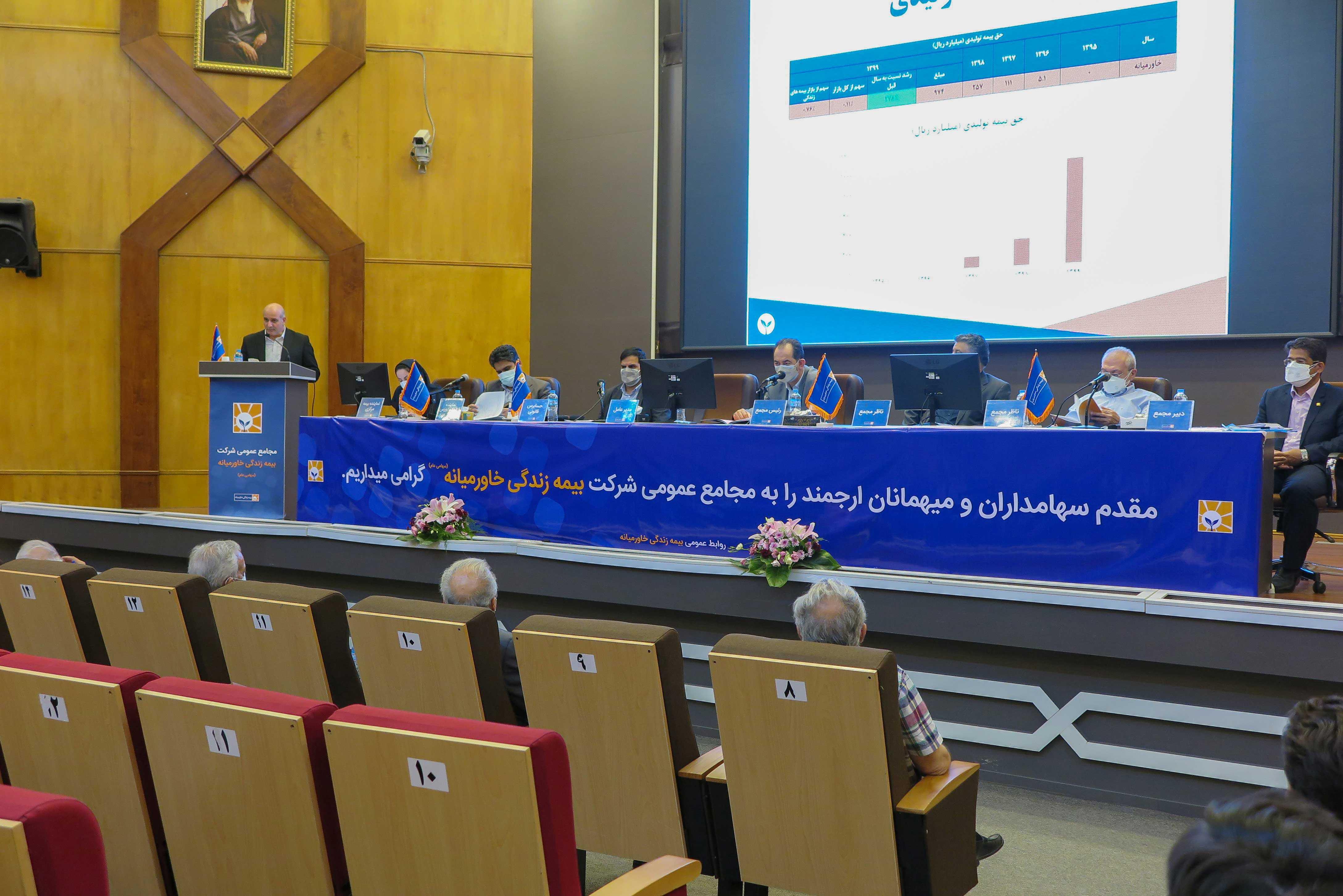 مجامع عمومی شرکت بیمه زندگی خاورمیانه برگزار شد